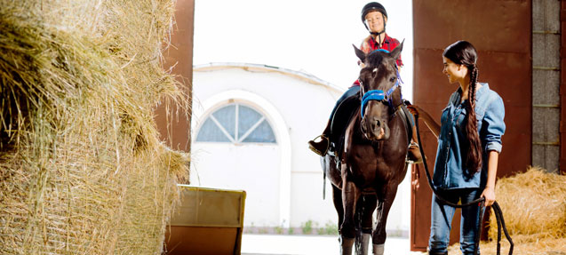 Horse riding tourism in Spain